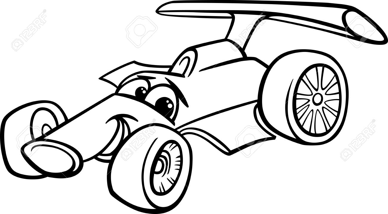 1300x717 Race Car Clipart Funny