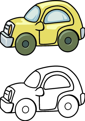 290x410 Toy Car Coloring Pages Printables For Kids