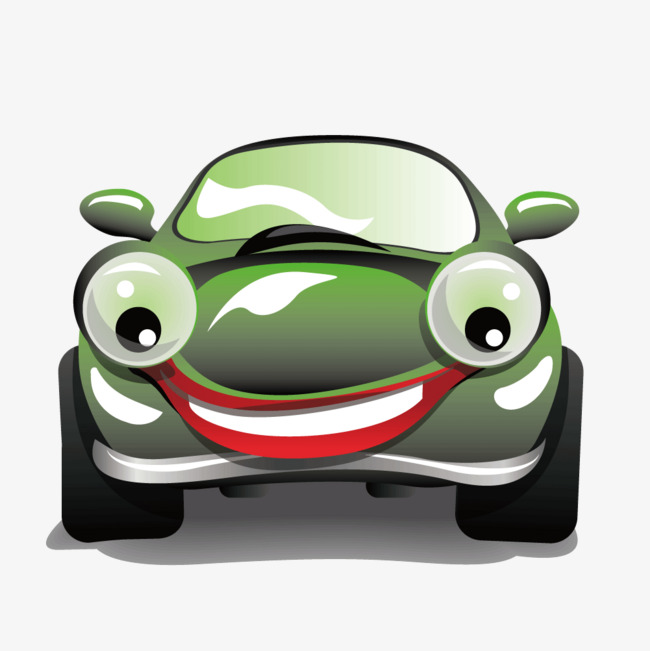 650x651 Vector Cartoon Cars Big Eyes, Vector Car, Bigeye Car, Cartoon Car