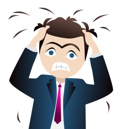 425x425 Funny Stressful Clip Art
