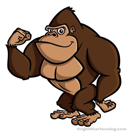 Cartoon Chimpanzee Pictures