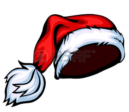 Cartoon Christmas Hats Clipart