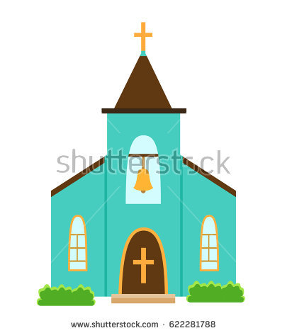 405x470 Chapel Clipart Cartoon