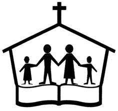 236x222 Church Family Clip Art
