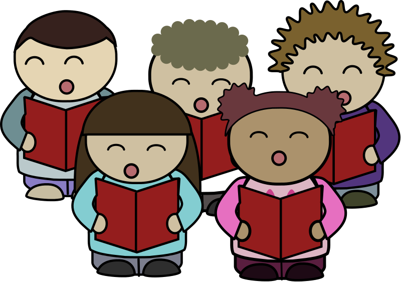 800x562 Church Choir Clip Art 2