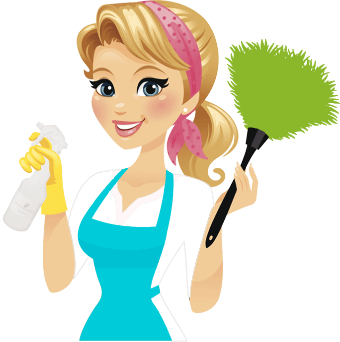 Cartoon Cleaning Lady Clipart | Free download on ClipArtMag