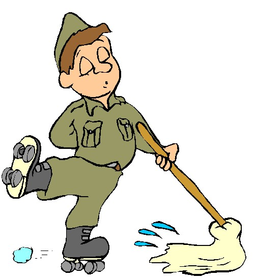 501x551 Free Cleaning Clip Art House Cleaning Cartoon Image