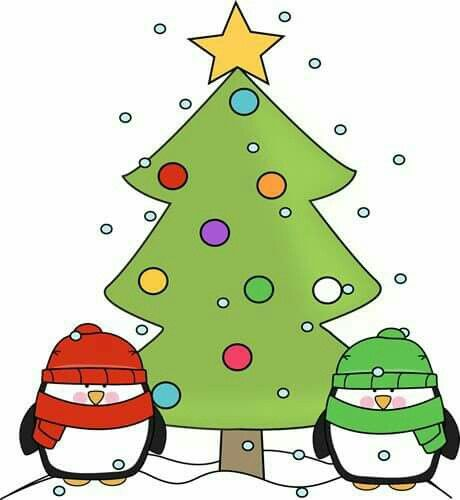 Cartoon Clip Art Christmas