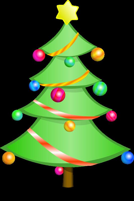 534x800 Christmas Tree Clipart