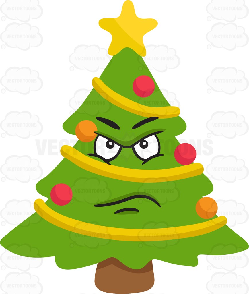 868x1024 Clipart Number 5 Christmas