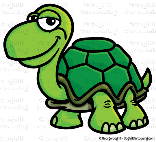 540x492 Cartoon Turtle Clip Art Stock Illustration