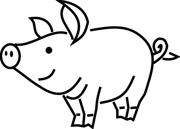 736x530 Pig Clip Art