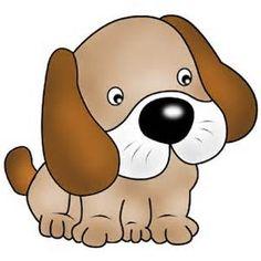 236x236 Cute Cartoon Dog Graphic