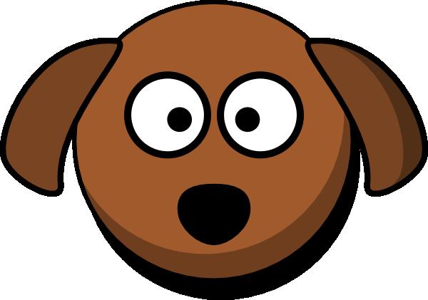 600x421 Dog Face Clipart