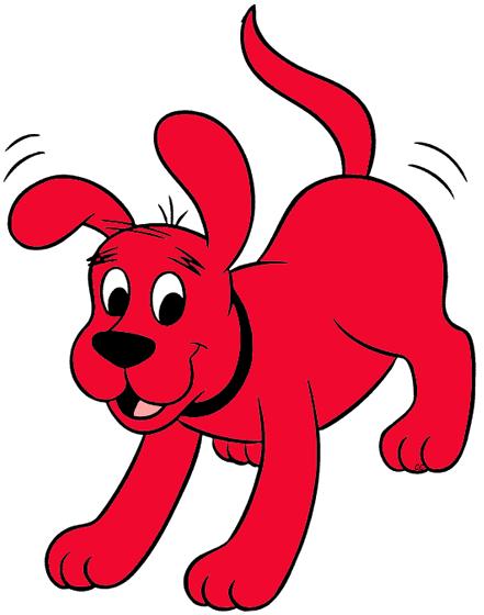 441x560 Clifford The Big Red Dog Clip Art Images Cartoon