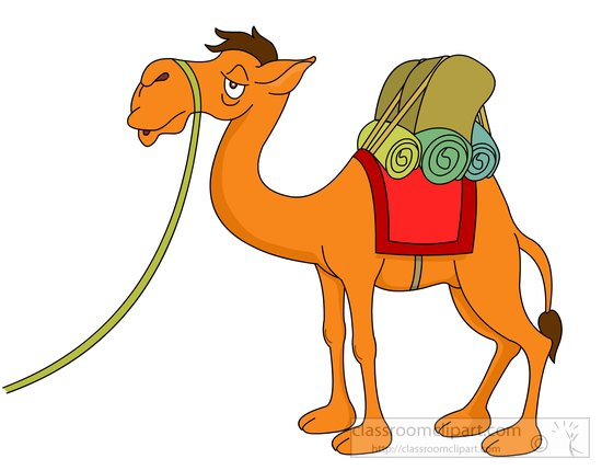 550x429 Free Camel Clipart