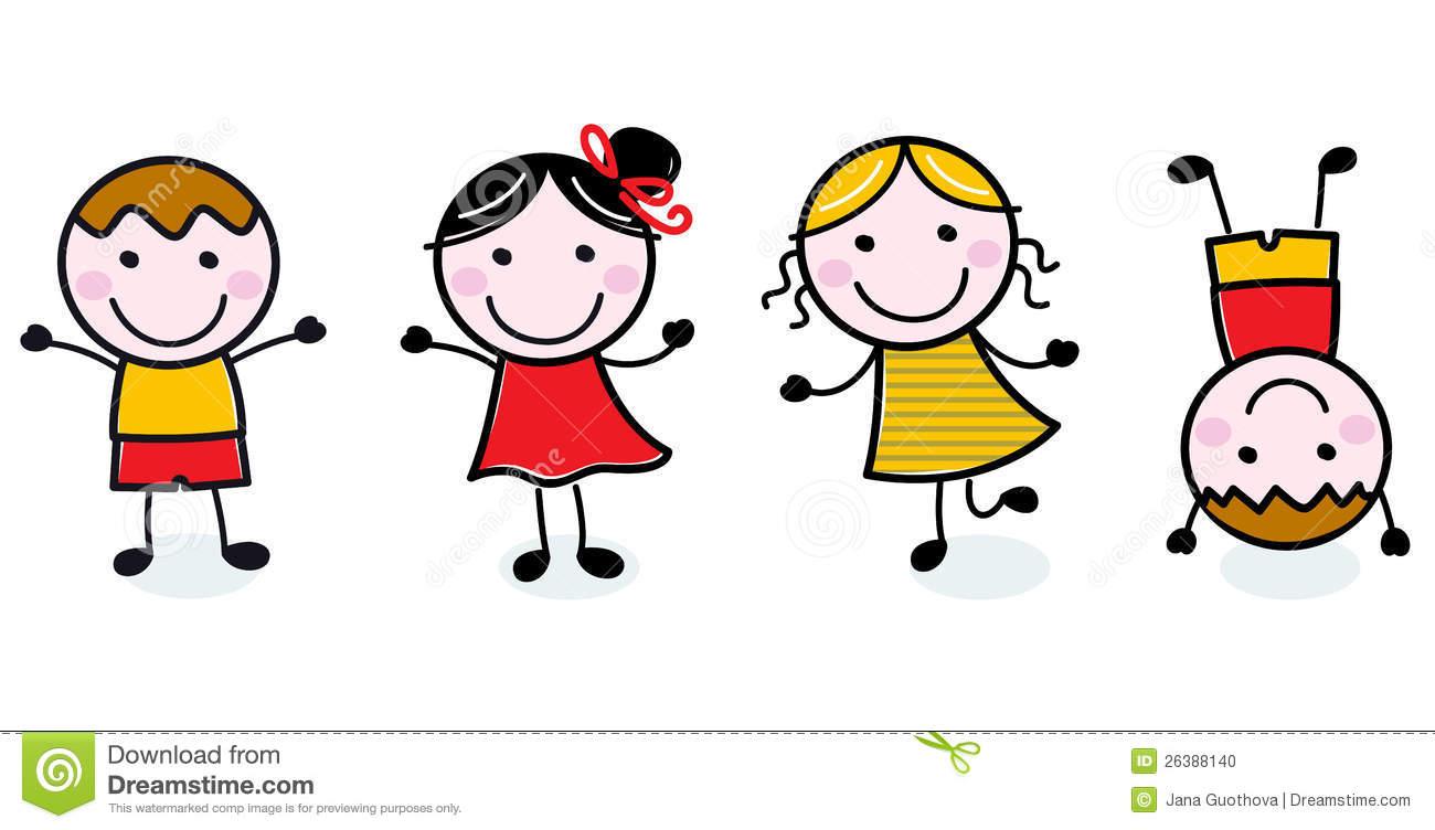 1300x752 Happy Kids Clipart