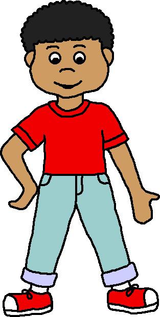 313x620 Little Boy Cartoon Clipart Clipart Kid