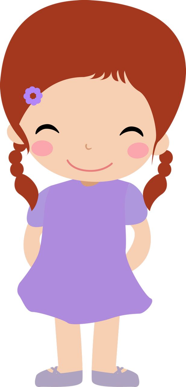 Cartoon Clipart Girl