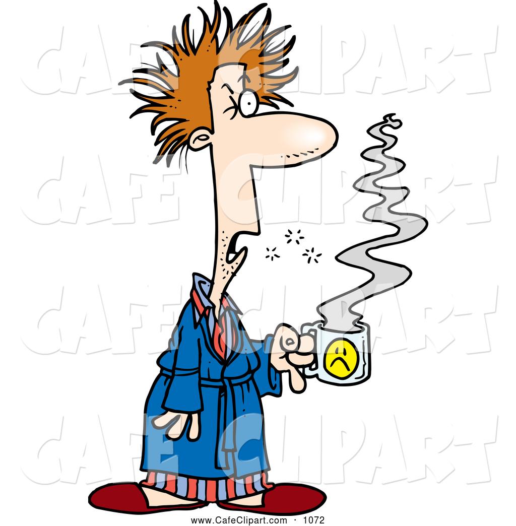 1024x1044 Cartoon Clip Art Of A Tired Cartoon Tired Man With Bad Hair