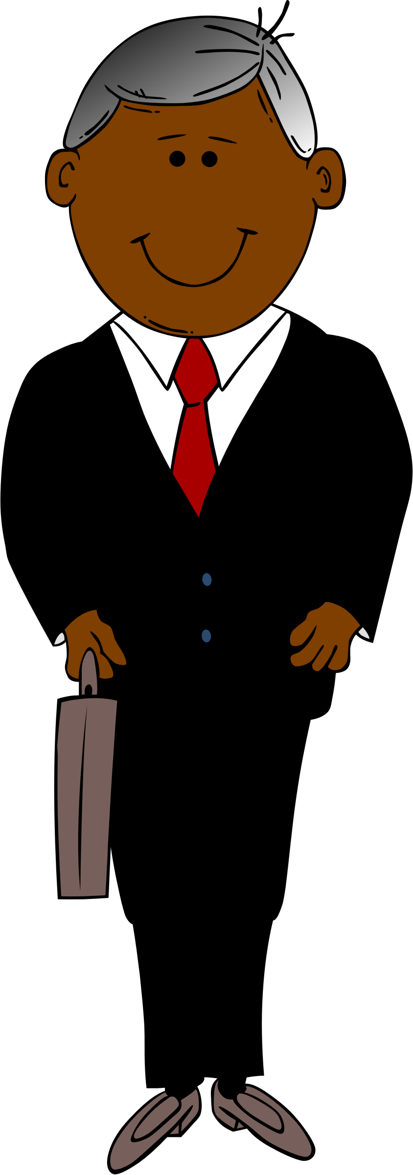 844x2400 Men Clipart Suit Cartoon