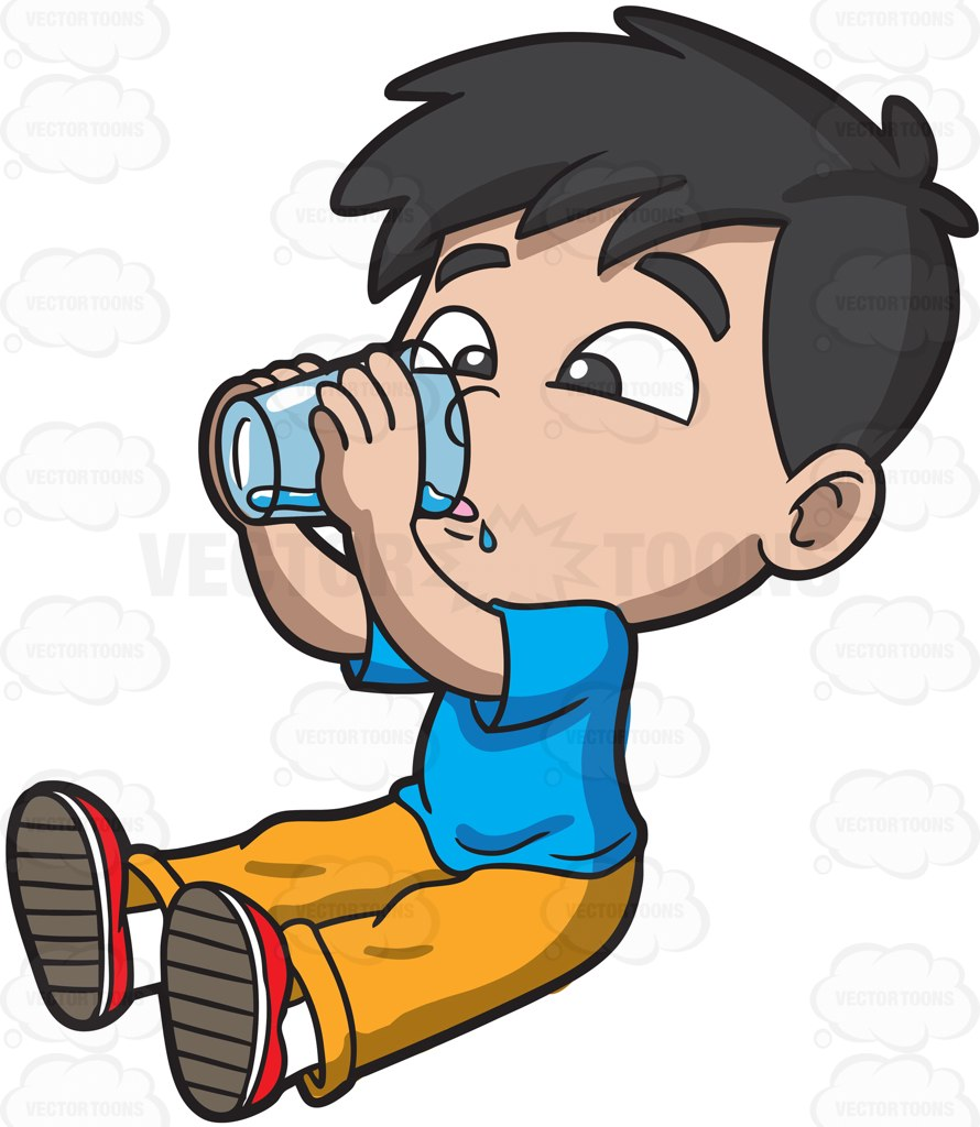 890x1024 Drinking Clipart Cartoon