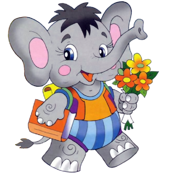 600x600 Elephant Cartoon Picture Images Clipart