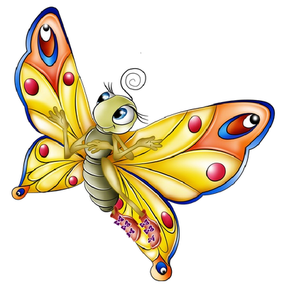 400x400 News Butterfly Butterfly Cartoon Clipart Butterfly Clipart