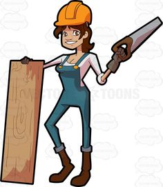 Cartoon Construction Worker Clipart
