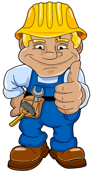 324x594 Construction Worker Clipart