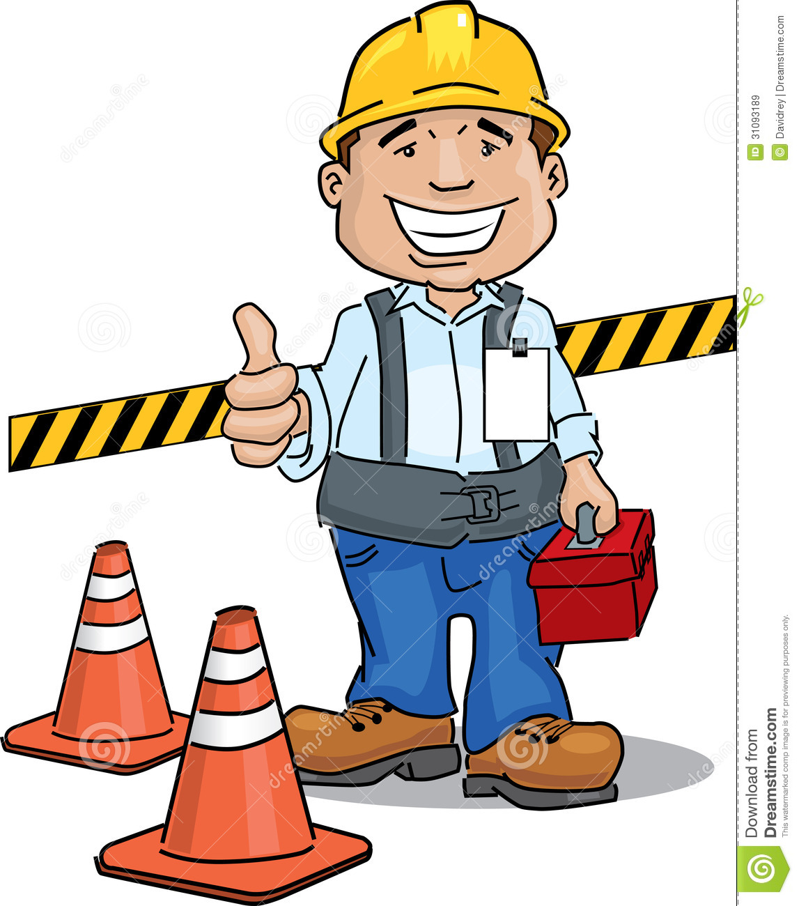 Cartoon Construction Worker Clipart | Free download on ...