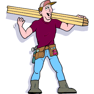 300x300 Animated Construction Worker Clipart Clipartfest