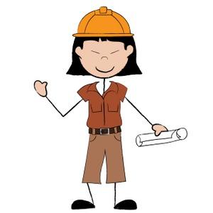 300x300 Construction Worker Cartoon Clipart Free