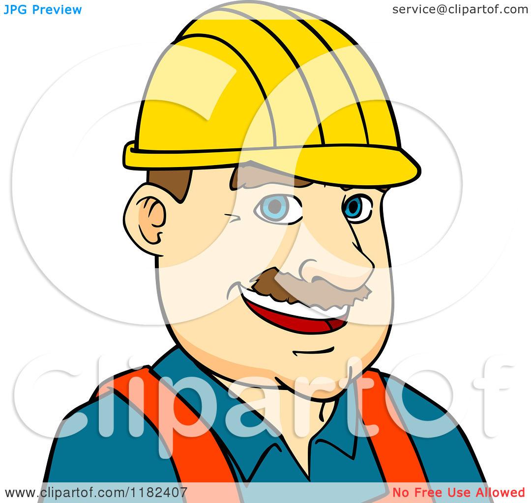1080x1024 Cartoon Construction Worker Clipart