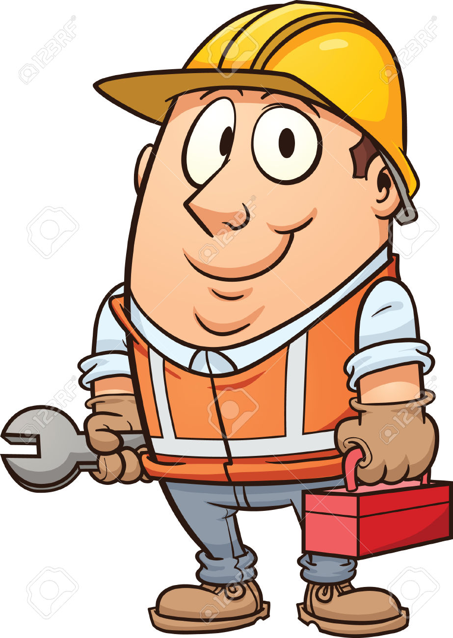 923x1300 Cartoon Construction Workers Collection