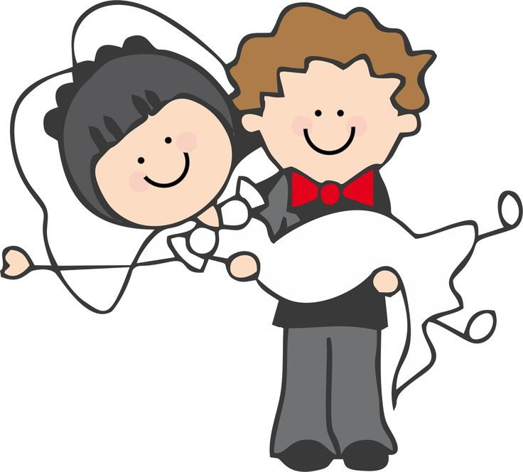 Cartoon Couples Hugging Clipart