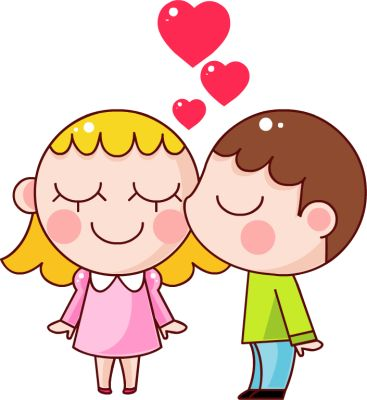 367x400 Child Showing Love Clipart