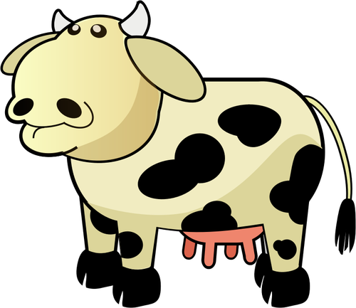 Cartoon Cow Cliparts