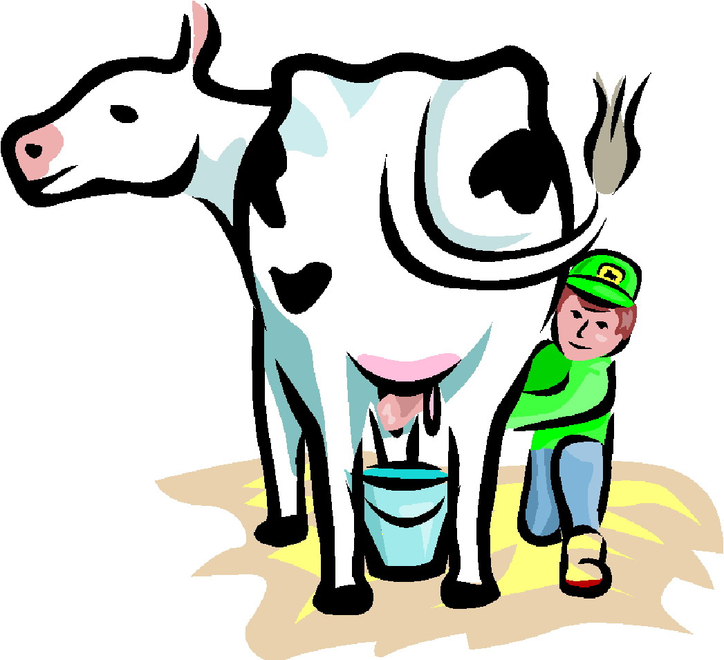 1047x955 Cattle Clipart Cartoon Farmer