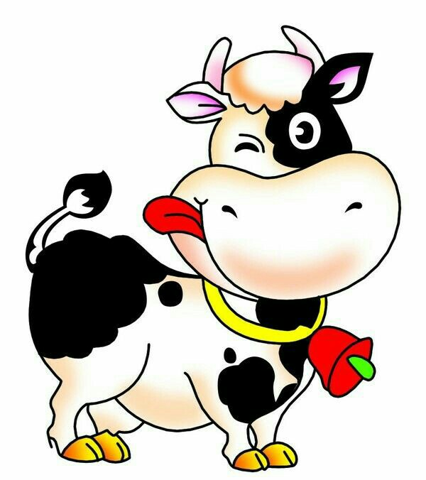 600x676 Lustige Tiere Cow, Clip Art And Cartoon