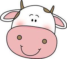 236x206 Cow Face Clip Art