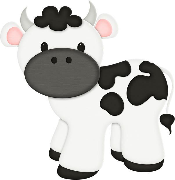 603x621 14 Best Cartoon Cows Images Pictures, Templates