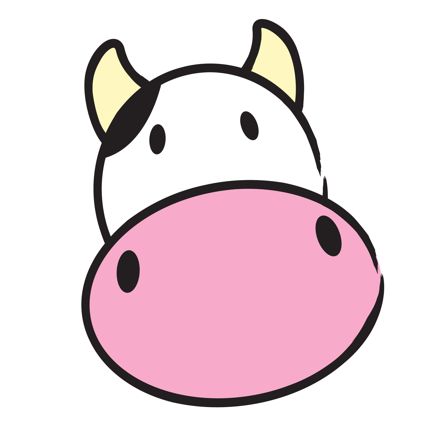 1500x1500 Image Result For Cow Clipart Rocks Cow, Rock