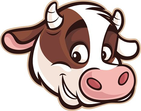 465x369 New Cartoon Cow Face Cow Face Clip Art Vector Amp Illustrations