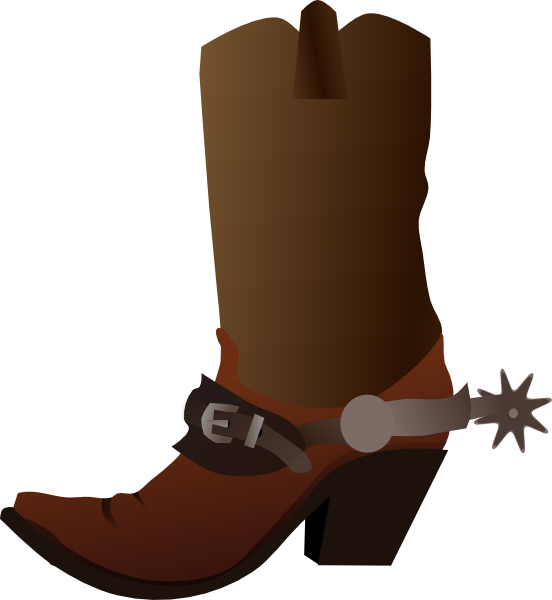552x600 Free To Use And Share Cowboy Boot Clipart Clipartmonk