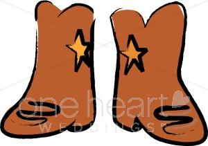 300x211 Cowboy Boots Cartoon