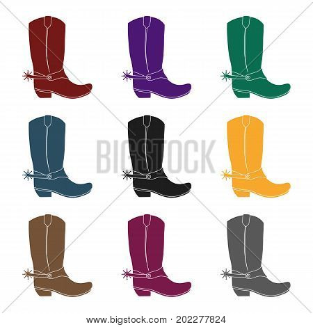 450x470 Cowboy Boots Images, Illustrations, Vectors