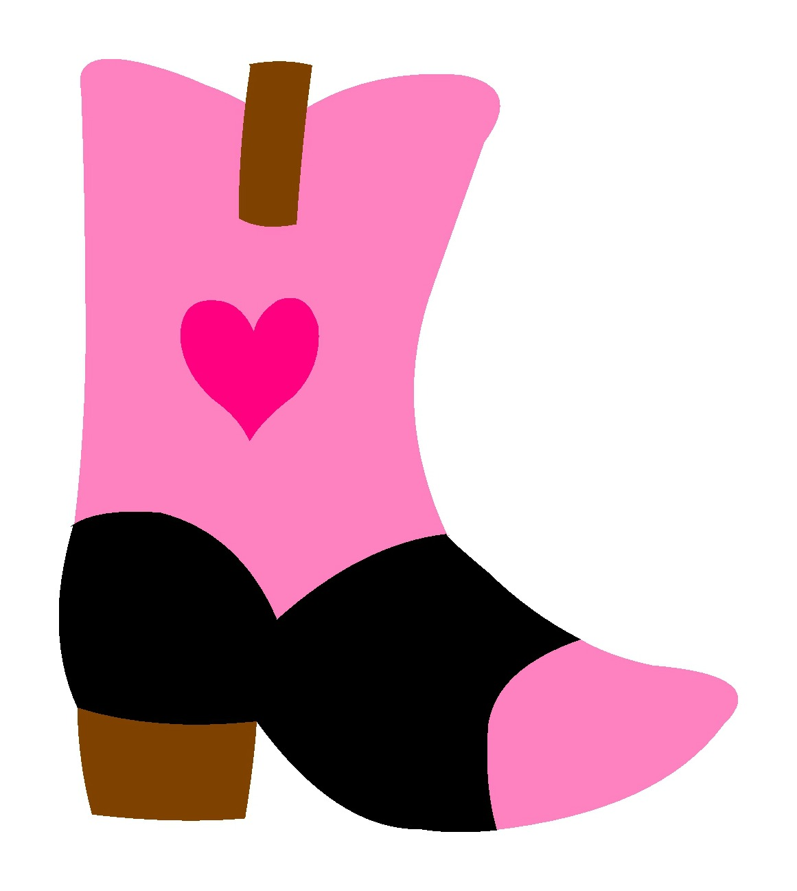 1161x1297 Cowgirl Boot Svg