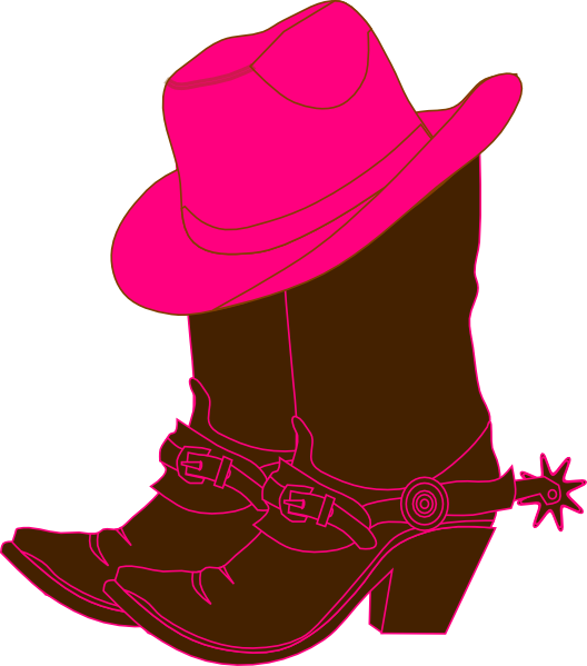 528x599 Cowgirl Boots Clipart