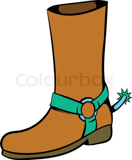 265x320 Hand Drawn Sketch Of A Cowboy Boots Stock Vector Colourbox
